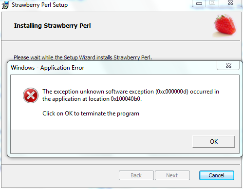 Exception_Installing_Strawberry-5.12.2.PNG